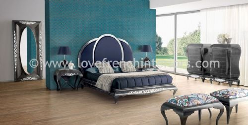 New York Blue Bedroom Collection